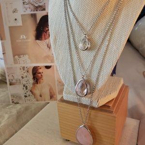 Minaret Three-Row Convertible Necklace/Bracelets